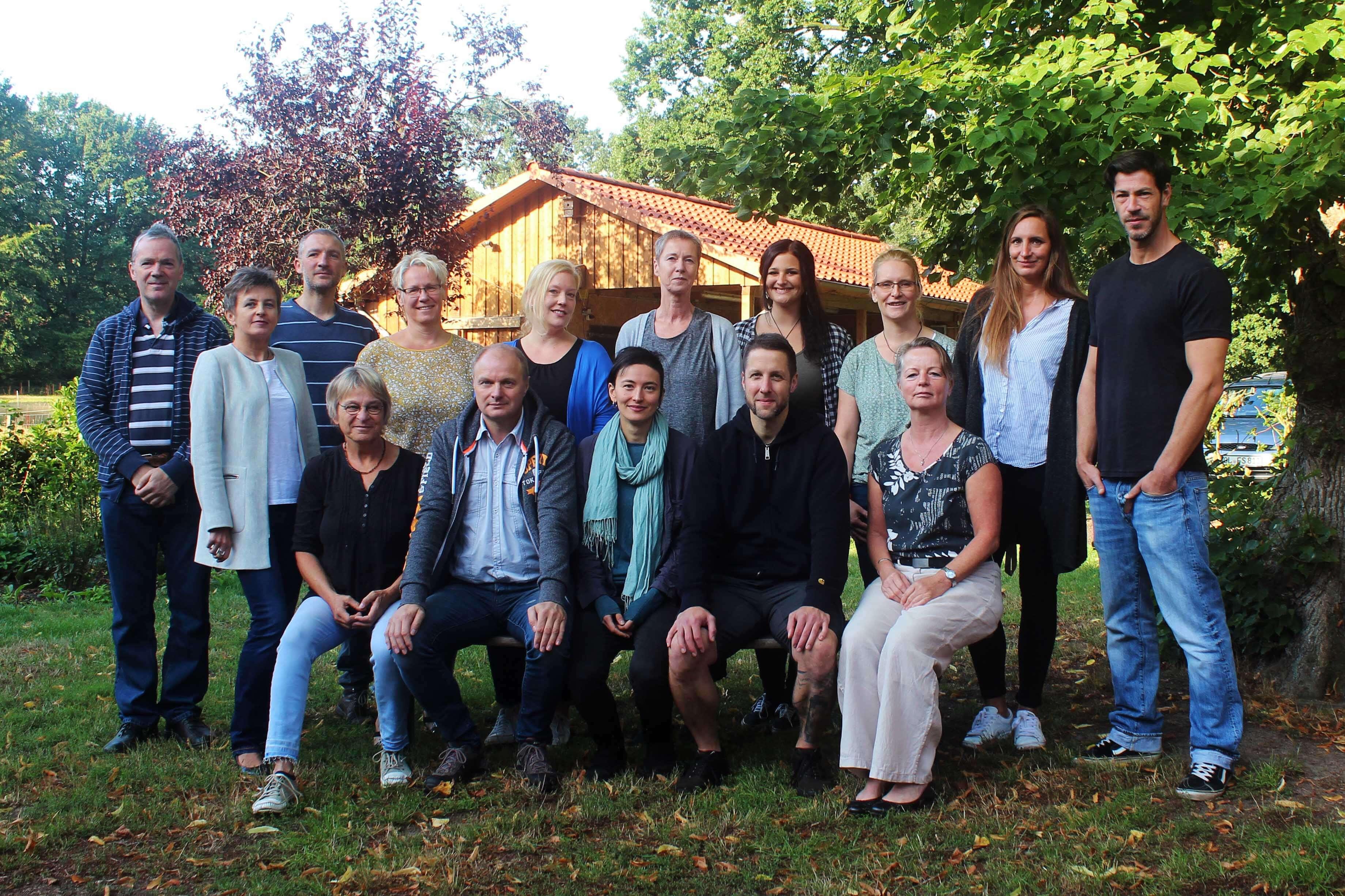 Das Team von Hof Schulenberg